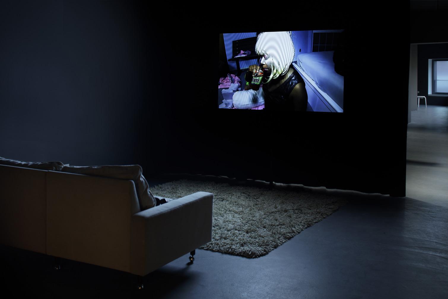 Ryan Trecartin & Lizzie Fitch, Item Falls, 2013 - Installationsansicht